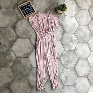 Young Broke & Fabulous Blush Coleen Jumpsuit